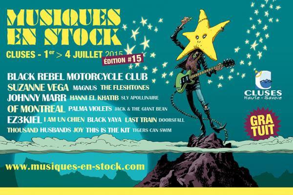 Festival Musiques en Stock @ Cluses 1-2-3-4 juillet 2015
