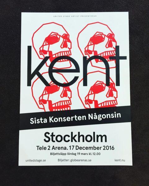 Kent à Stockholm 2016