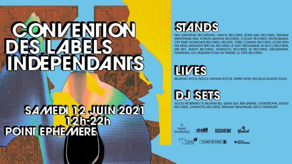 Paris, 5è convention des labels indépendants le 12 juin 2021