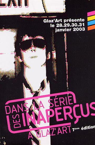 Festival Dans la série des inaperçus 2003
