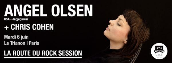 Angel Olsen & Chris Cohen à l'affiche de la prochaine route du rock session