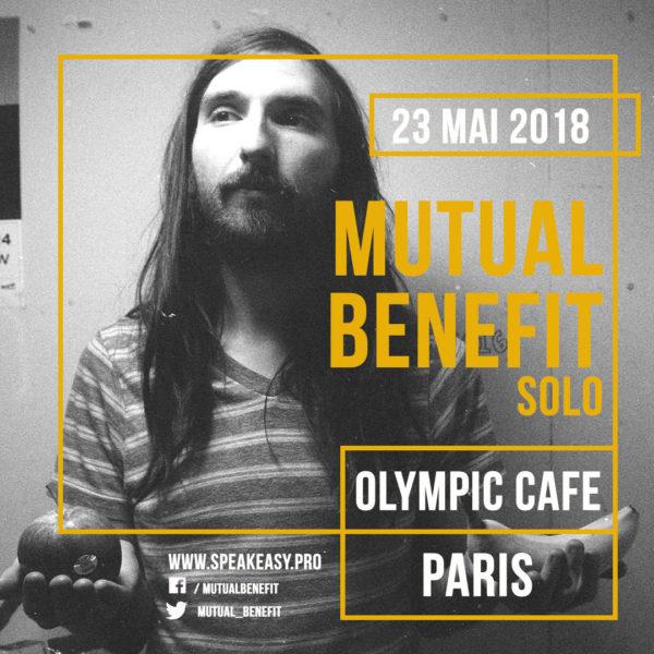 Gagnez vos places pour Mutual Benefit à l'Olympic