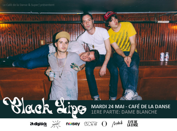 Gagnez 1x2 places pour The Black Lips @ Café de la Danse le 24 mai 2016