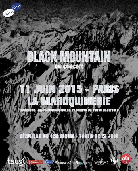 Gagnez 1x2 places pour Black Mountain @ Maroquinerie le 11 juin 2015