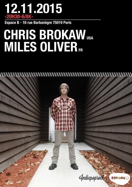 Gagnez 1x2 places pour Chris Brokaw @ Espace B le 12 novembre 2015