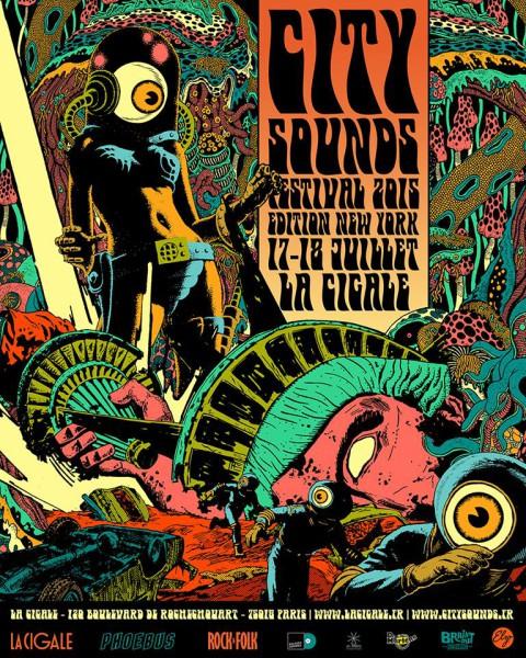 City Sounds Festival @ Boule Noire - 17 / 18 juillet 2015