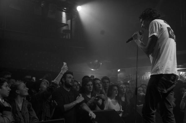Georgio en concert à Toulouse le 17 décembre 2015. (Photo Marion Jort)