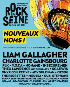 Affiche Rock en Seine 2018
