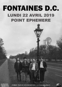 Fontaines DC au Point Ephémère le 22 avril c'est complet mais on vous y invite !