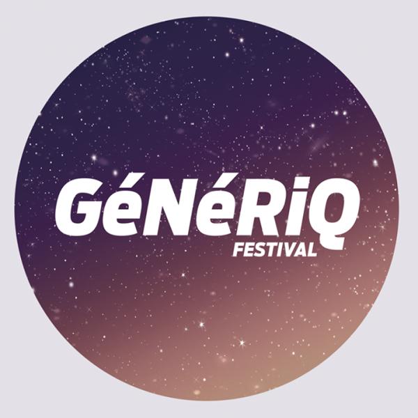 Gagnez 3x2 places pour le GéNéRiQ Fesival