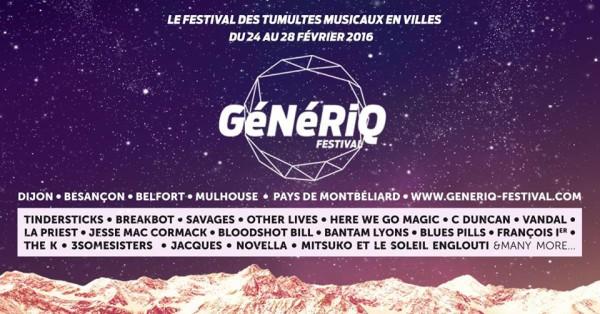 GéNéRiQ, festival d'intérêt général