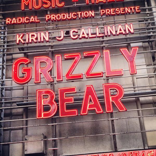 Grizzly Bear @ L'Olympia - 25 Mai 2013