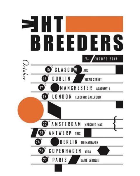 The Breeders en tournée européenne cet automne !