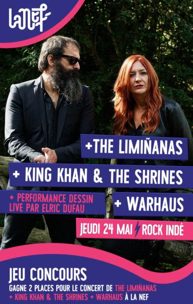 Assistez au concert de Warhaus et The Limiñanas à la Nef d'Angoulême