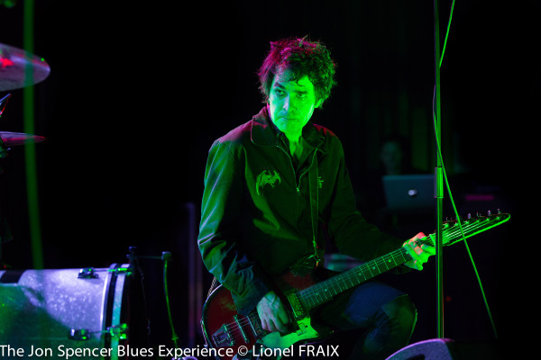 The Jon Spencer Blues Explosion @ La Belle Electrique - 9 Mars 2016