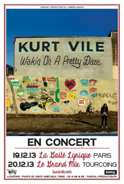 Gagnez 2x2 places pour Kurt Vile @ Gaîté Lyrique le 19 décembre 2013