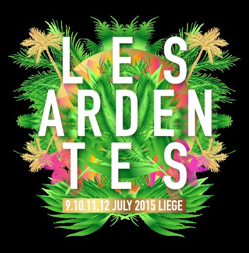 Les Ardentes 2015 @ Liège (Belgique) - 09 au 12 Juillet