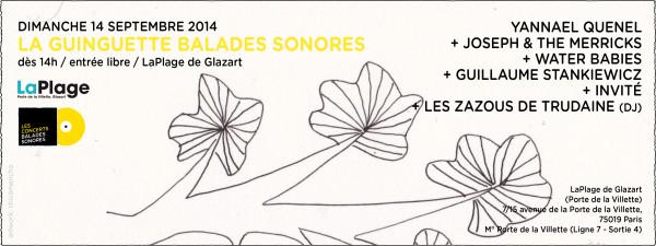 Les Balades Sonores : une rentrée en musique