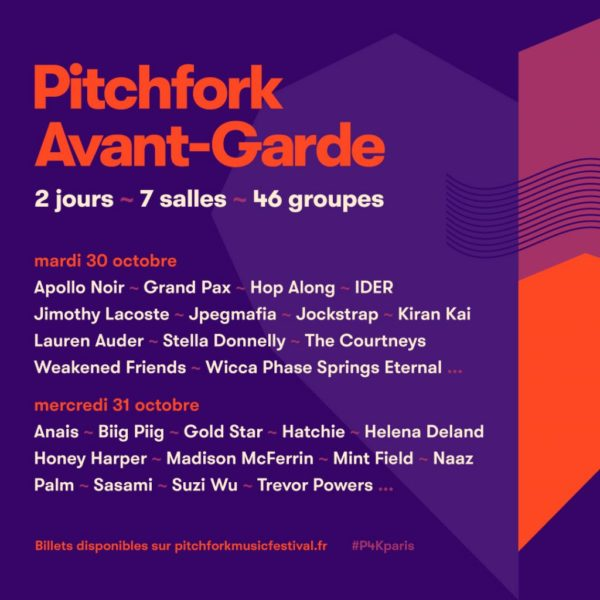 Pitchfork Avant Garde @ Pan Piper - 31 Octobre 2018