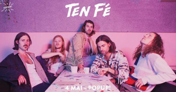 Gagnez 1×2 places pour Ten Fé @ Pop Up du Label le 4 mai 2019