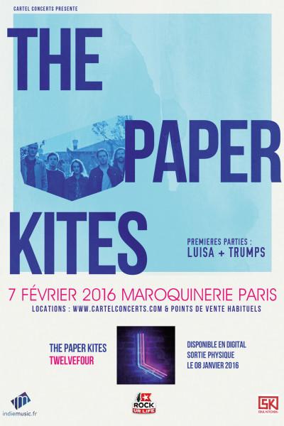 Gagnez 1x2 places pour The Paper Kites @ Maroquinerie le 07 février 2016