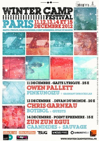 Winter Camp Festival du 11 au 15 décembre 2012
