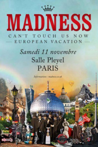 Madness @ Salle Pleyel 11 novembre 2017