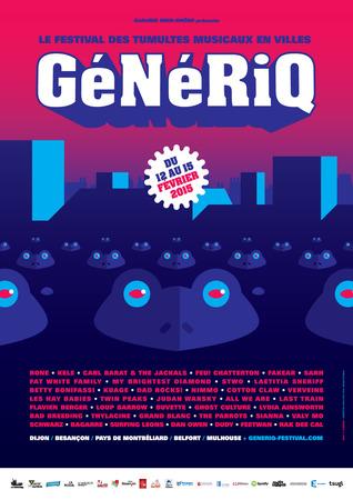 Festival GeNeRiQ @Dijon, Le Consortium - 15 Février 2015