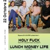 Save the Date : Holy Fuck à l'Espace B le 22 Octobre !