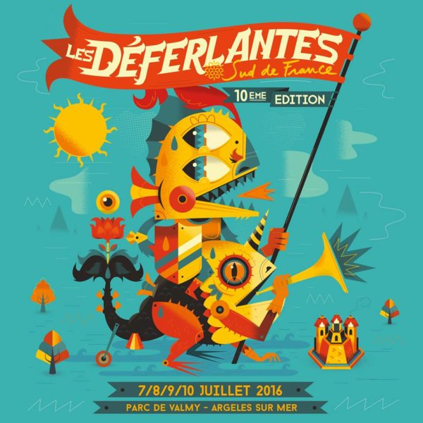 Festival Les Déferlantes @ Argelès-sur-Mer — 9 Juillet 2016