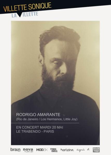 Rodrigo Amarante en tournée française