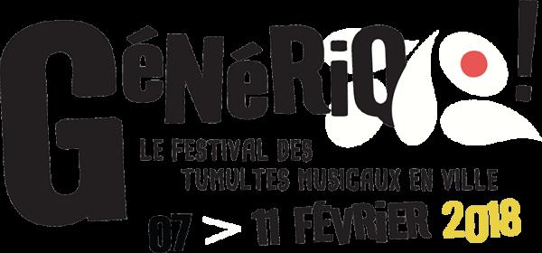 Festival Generiq (Tricky, Wire, Concrete Knives) @ La Vapeur, Dijon - 8 Février 2018