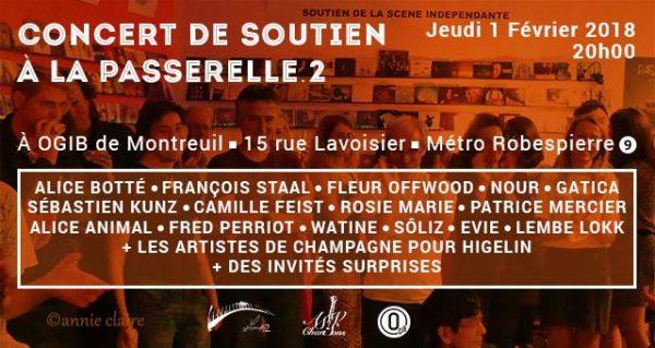 Concert de Soutien à la Passerelle.2
