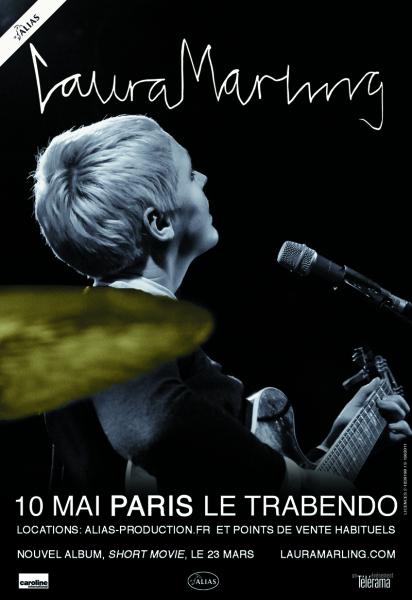 Laura Marling en concert au Trabendo