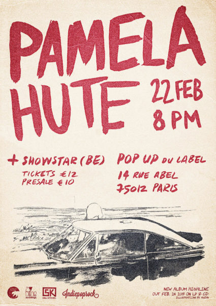 Pamela Hute @ Le Pop-Up du Label - 22 Février 2017