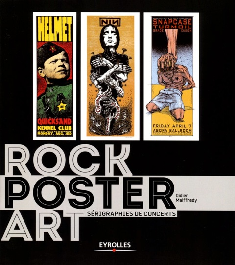 Rock Poster Art s'expose à Paris