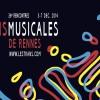 36ème Rencontres Transmusicales de Rennes, du 3 au 7 Décembre 2014