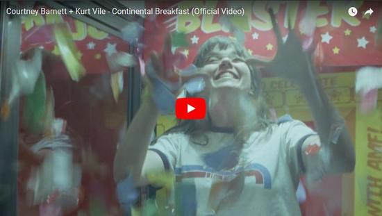 Courtney Barnett + Kurt Vile - Continental Breakfast