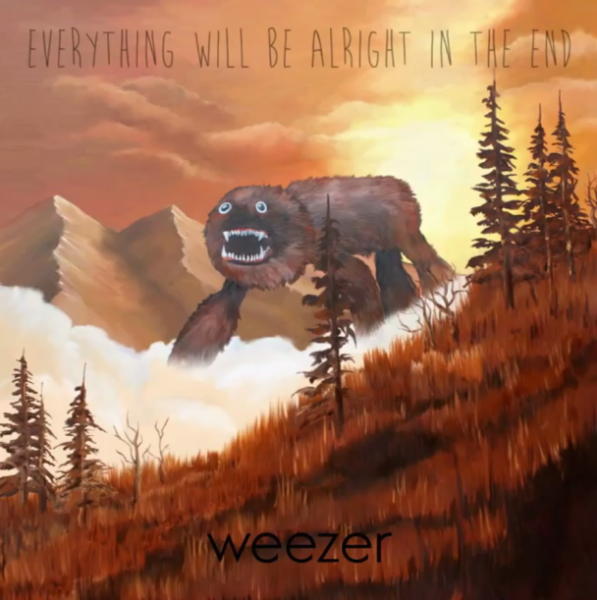 "Weezer dévoile l'artwork de ""Everything Will Be Alright In The End"""